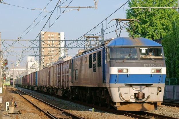 2065レ【EF210-102牽引】