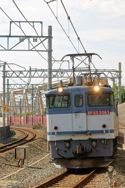 5087レ【EF65 2063牽引】