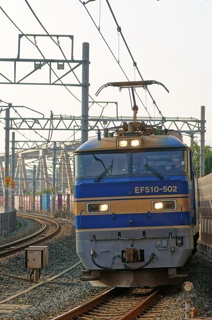 4076レ【EF510-502牽引】