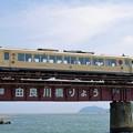 京都丹後鉄道@由良川橋梁