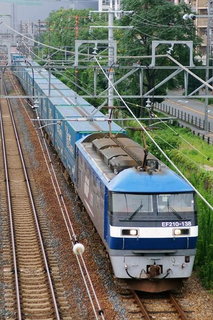 臨8056レ【EF210-138牽引】