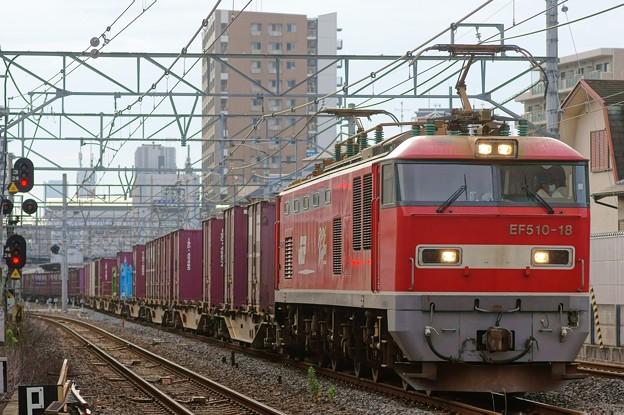 4076レ【EF510-18牽引】