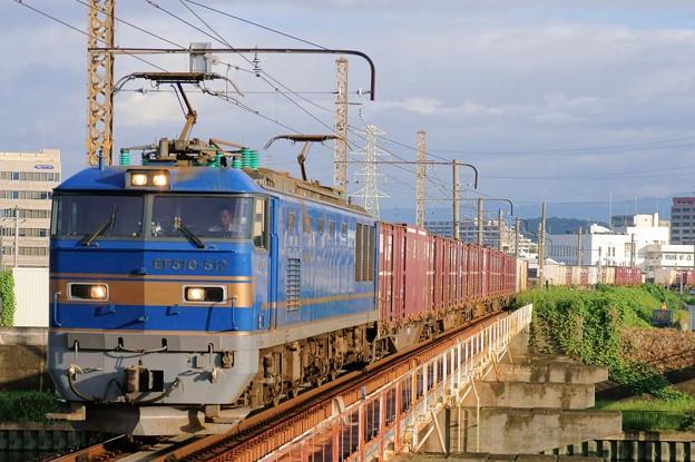 4070レ【EF510-512牽引】