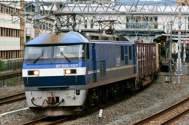 Photos: 84レ【EF210-107代走】