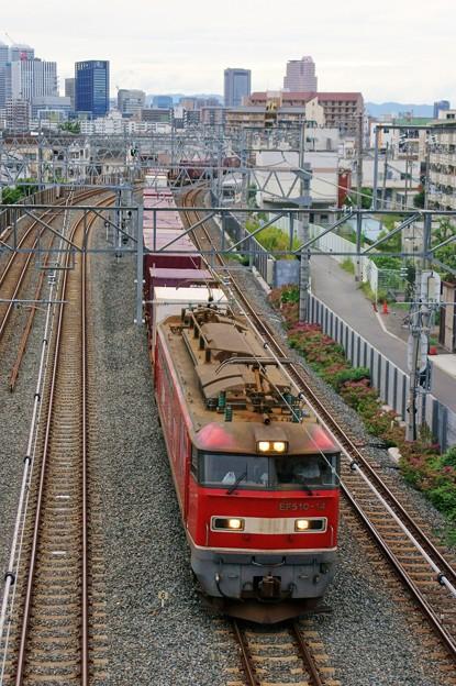 Photos: 4076レ【EF510-14牽引】