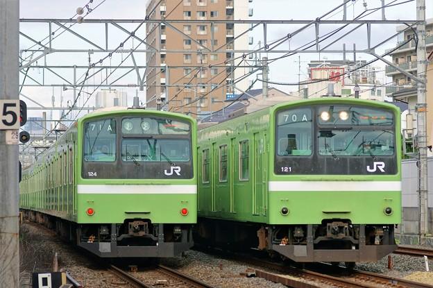 201系 並び:おおさか東線