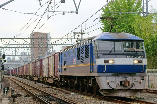 1086レ【EF210-314牽引】