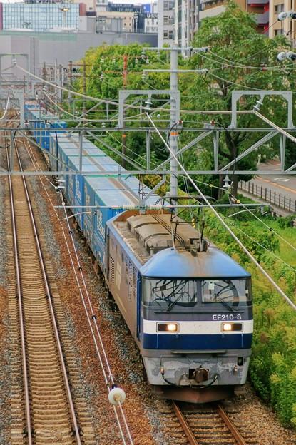 臨8056レ【EF210-8牽引】
