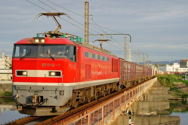 4070レ【EF510-1牽引】