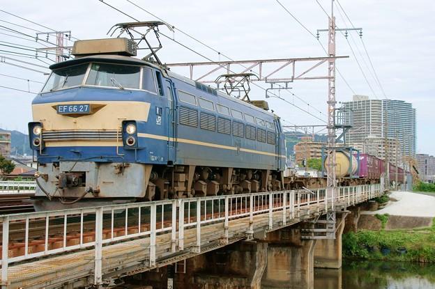 5085レ【EF66 27牽引】