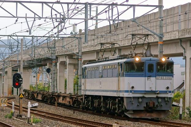 配1792レ【EF65 2050牽引】