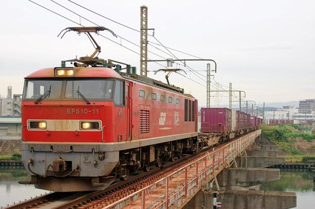 83レ【EF510-11牽引】