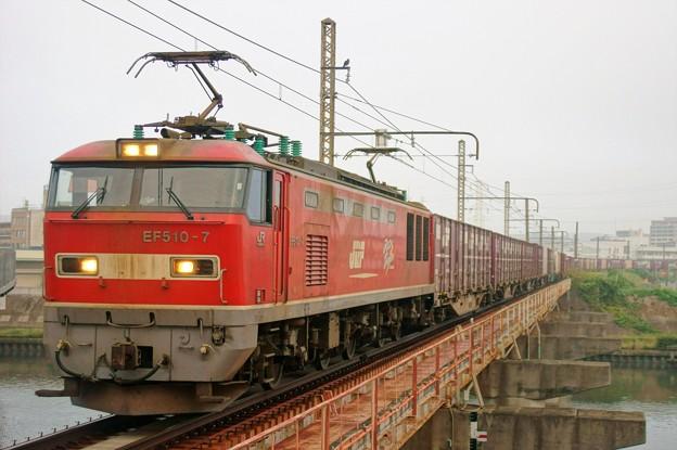 4070レ【EF510-7牽引】