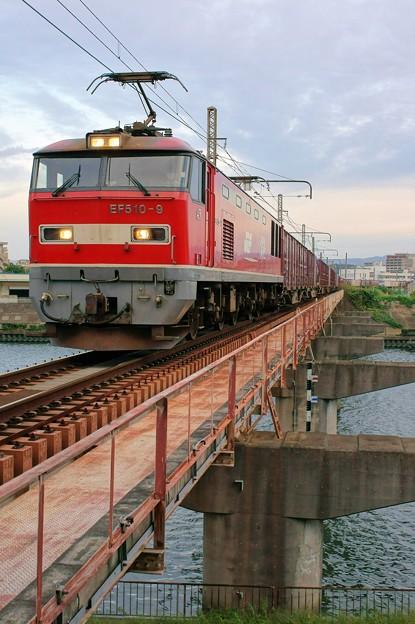 4070レ【EF510-9牽引】