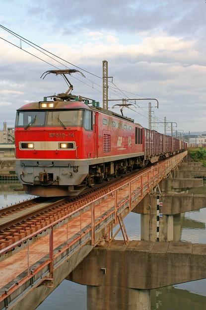 4070レ【EF510-14牽引】