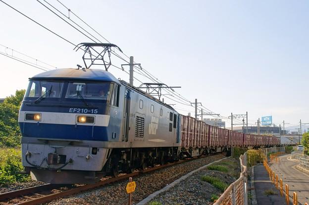 5064レ【EF210-15牽引】