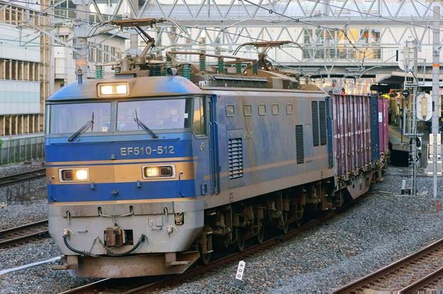 84レ【EF510-512牽引】