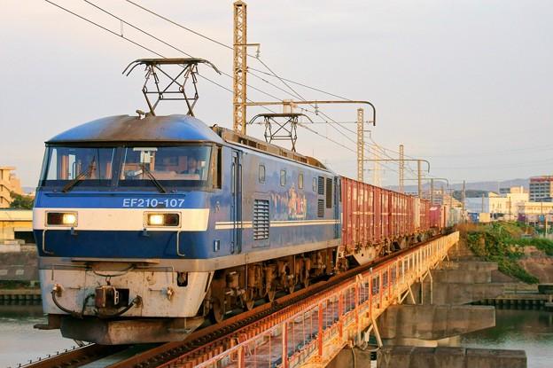 2065レ【EF210-107牽引】