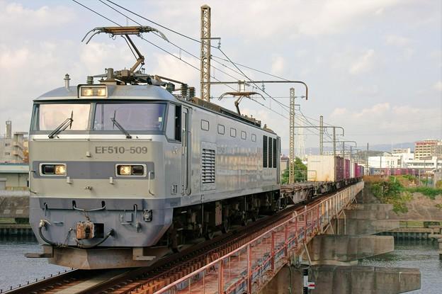 83レ【EF510-509牽引】