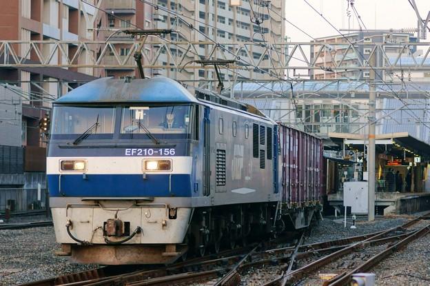 2065レ【EF210-156牽引】