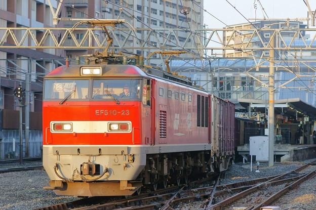 4070レ【EF510-23牽引】
