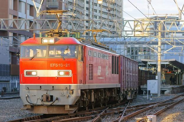 4070レ【EF510-21牽引】