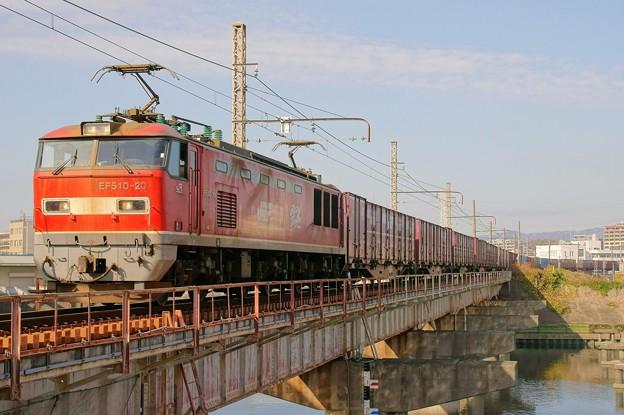83レ【EF510-20牽引】