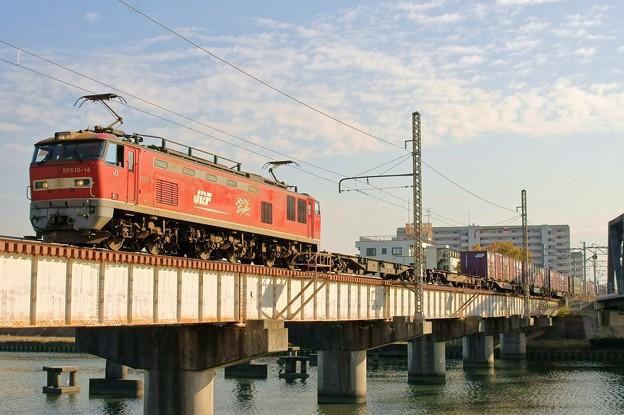 4071レ【EF510-14牽引】