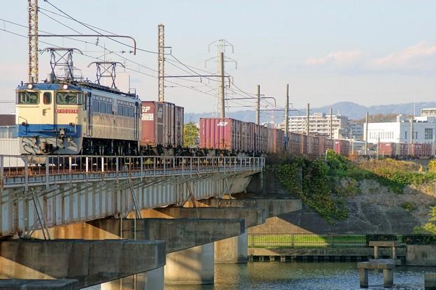 Photos: 5087レ【EF65 2074牽引】