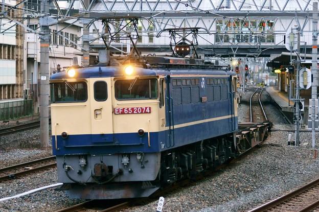 配1792レ【EF65 2074牽引】
