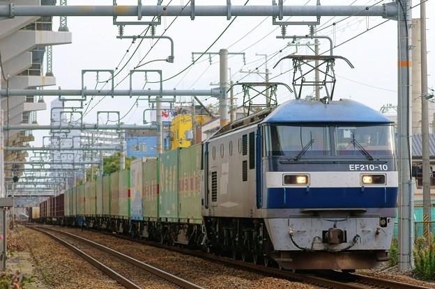 1055レ【EF210-10牽引】