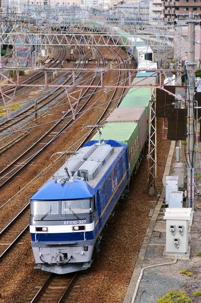 1050レ【EF210-327牽引】
