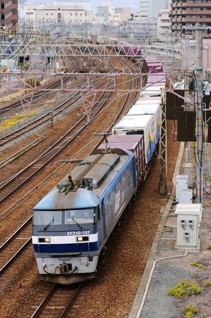 1054レ【EF210-157牽引】