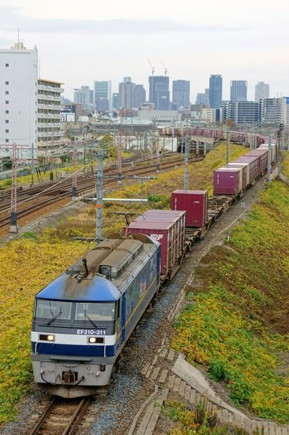 5071レ【EF210-311牽引】