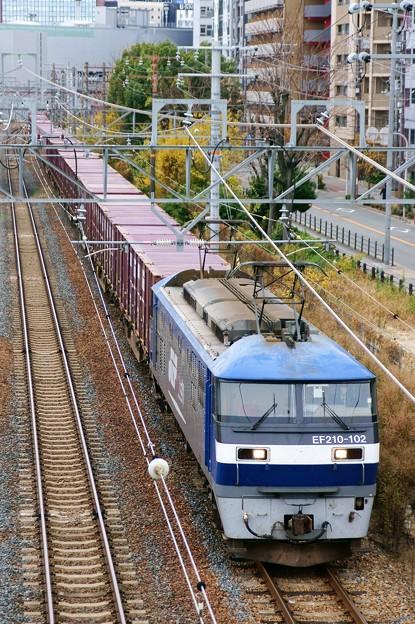 5064レ【EF210-102牽引】