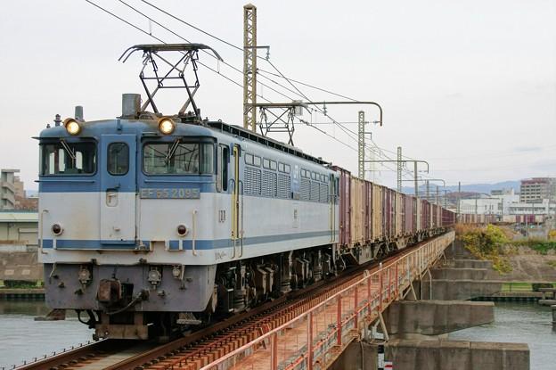 5087レ【EF65 2095牽引】