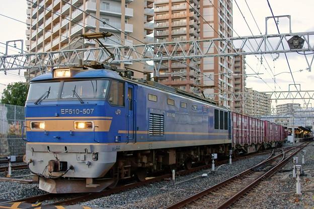 Photos: 4070レ【EF510-507牽引】