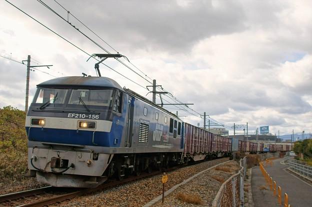 5070レ【EF210-156牽引】