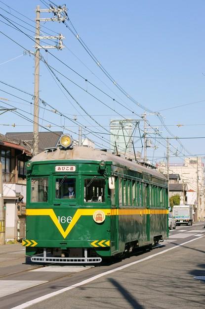 阪堺電車【モ166】