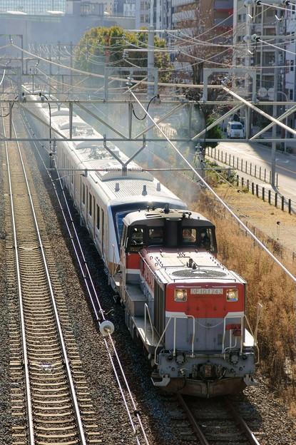 小田急甲種輸送【DE10 1743牽引】