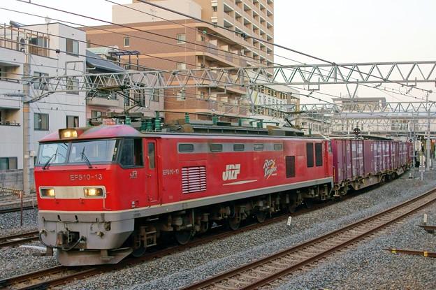 84レ【EF510-13牽引】