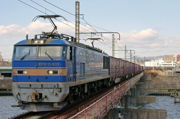 83レ【EF510-503牽引】