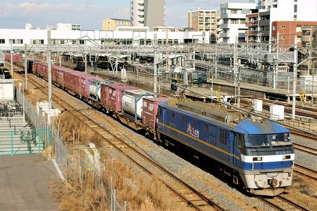 5085レ【EF210-311牽引】