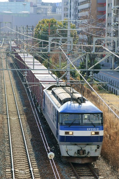 5064レ【EF210-2牽引】