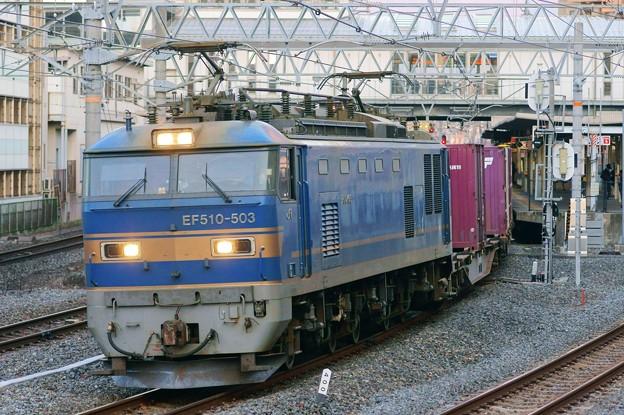 84レ【EF510-503牽引】