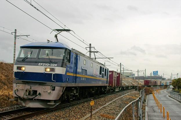 5070レ【EF210-324牽引】