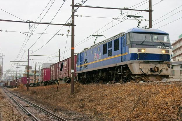 5071レ【EF210-314牽引】