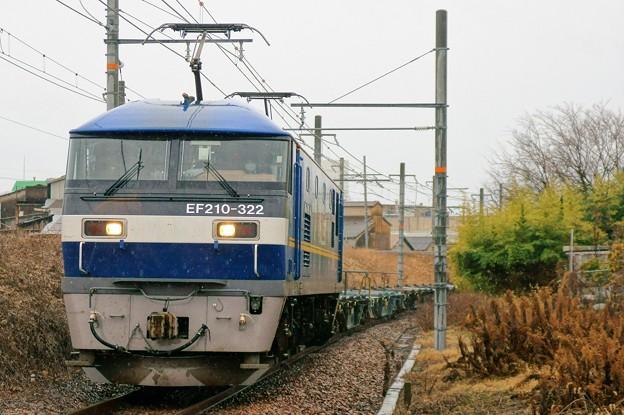 2086レ【EF210-322牽引】
