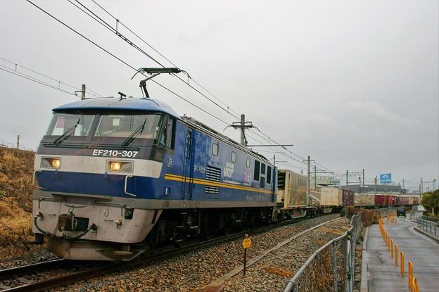 2070レ【EF210-307牽引】