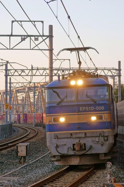 4076レ【EF510-508牽引】